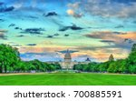 Stock photo the united states capitol on the national mall in washington d c 700885591