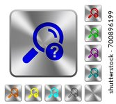 unknown search engraved icons...   Shutterstock .eps vector #700896199