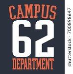 creative grunge t shirt graphic ...   Shutterstock .eps vector #700898647