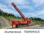 drilling rig | Shutterstock . vector #700909315