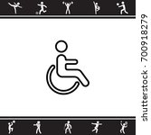 Web Line Icon. Disabled