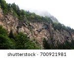 fogy mountain | Shutterstock . vector #700921981