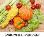 large bright assortment of... | Shutterstock . vector #70093033