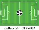 football field vector | Shutterstock .eps vector #700959304