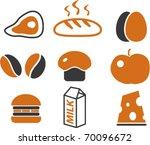Food Signs. Vector