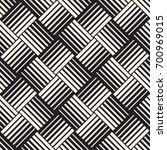 seamless pattern with lines... | Shutterstock .eps vector #700969015
