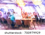 blurred image poker and... | Shutterstock . vector #700979929