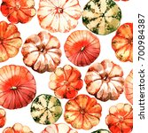 seamless pattern with...   Shutterstock . vector #700984387