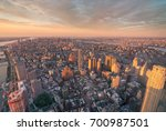 golden hour view from the...   Shutterstock . vector #700987501