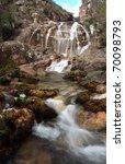 celo cavalos waterfall _ geres...   Shutterstock . vector #70098793
