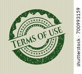 green terms of use distress...