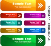 sale banner collection.... | Shutterstock .eps vector #70100503