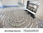 underfloor heating in... | Shutterstock . vector #701010925