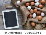 order online healthy natural... | Shutterstock . vector #701011951