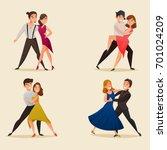 dance pairs 4 retro cartoon...