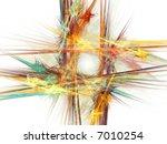 abstract fractal | Shutterstock . vector #7010254