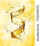 water splash in the form of... | Shutterstock . vector #701026921