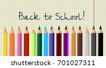 Back To School Poster Colorful...