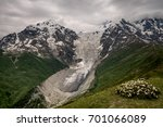 scenic view of tetnuldi... | Shutterstock . vector #701066089