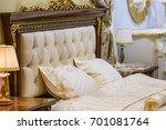 Luxury White Bedroom In Antiqu...