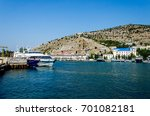 sea  city  port  ships  bay | Shutterstock . vector #701082181