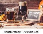 craft beer  | Shutterstock . vector #701085625