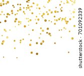 gold glitter background polka... | Shutterstock .eps vector #701092339