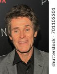 Small photo of NEW YORK, NY - AUGUST 17: Actor Williem Dafoe attends 'Death Note' New York premiere at AMC Loews Lincoln Square 13 theater on August 17, 2017 in New York City.