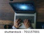 business concept. businessman... | Shutterstock . vector #701157001