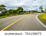 motion blurred highway | Shutterstock . vector #701158075