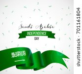 23 september. saudi arabia... | Shutterstock .eps vector #701161804