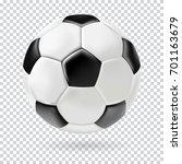 3d Football Isolated On...