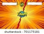 comic book versus background ... | Shutterstock .eps vector #701175181