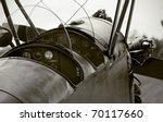 Veteran Airplane Cockpit