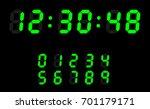 countdown web site vector... | Shutterstock .eps vector #701179171