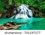 Soft Waterfall  Beautiful Green ...