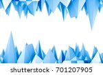 low poly mountains landscape.... | Shutterstock . vector #701207905