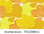 vector seamless pattern with... | Shutterstock .eps vector #701208811