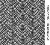 abstract wavy seamless... | Shutterstock . vector #701209087
