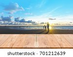 look out from the table  blur... | Shutterstock . vector #701212639