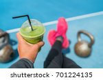 fitness smoothie weight loss... | Shutterstock . vector #701224135