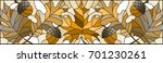 illustration in stained glass... | Shutterstock .eps vector #701230261