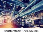 industrial zone  steel... | Shutterstock . vector #701232601