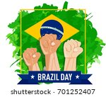 hand fist arm the symbol of... | Shutterstock .eps vector #701252407