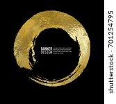 vector black and gold design... | Shutterstock .eps vector #701254795