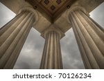 Columns Supporting A Replica O...