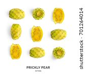 Seamless Pattern With Prickly...