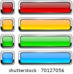set of vector buttons with...   Shutterstock .eps vector #70127056