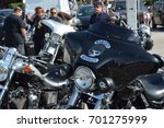 love and freedom  motorbiker... | Shutterstock . vector #701275999