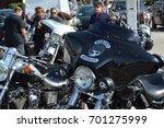 love and freedom  motorbiker... | Shutterstock . vector #701275999